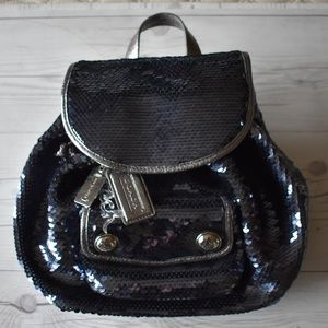 Coach Poppy Sequin Backpack (Limited Edition)